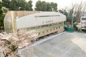 宝仙学園中学校校舎