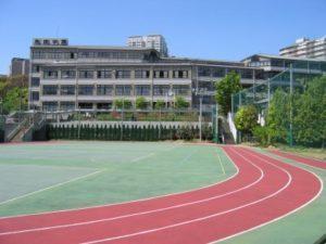 高輪中学校校舎