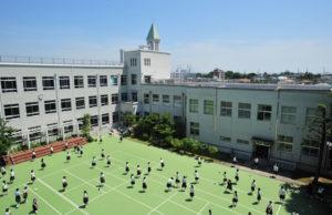 横浜雙葉中学校校舎